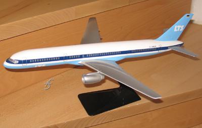 Boeing 747F Lufthansa Cargo 1:100, Airplast Milano Italy, original